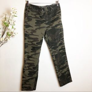 Banana Republic | Camouflaged Pattern Slim Jeans